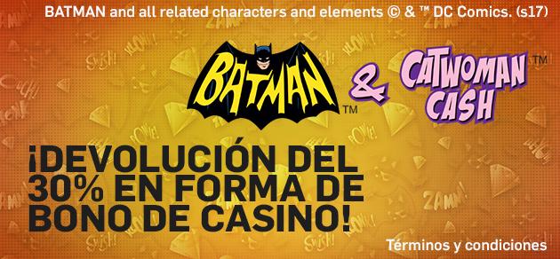Betfair casino devolución 30% slots