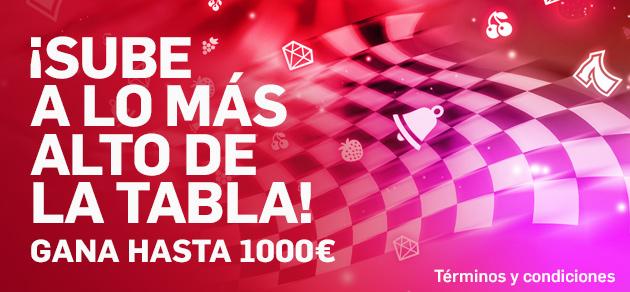 Betfair torneo, sube en la tabla y gana hasta 1000€