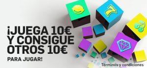 Betfair casino juega 10€ en slots y gana otros 10€