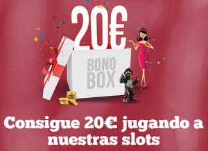 Bono box PAF Slots