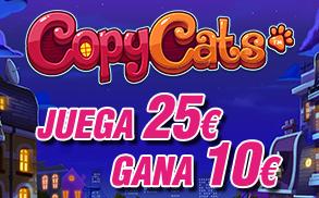 Wanabet Slots apuesta 25€ y gana 10€