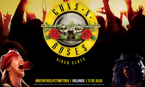 Paf Guns N Roses video slots