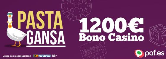 Paf bono casino 1200€