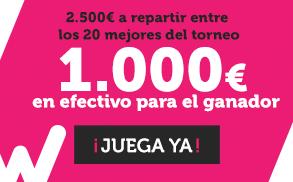 Wanabet Torneo Slots 2500€