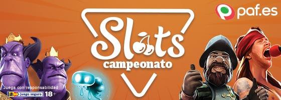 Paf Campeonato Slots 800€ en premios