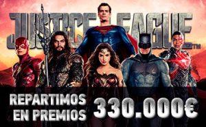 Sportium Torneo Liga de la justicia con 330.000€ en metálico