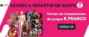 Wanabet Torneo slots 10.000€ a repartir!