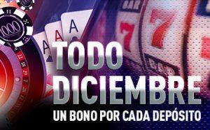 Sportium casino premios diciembre