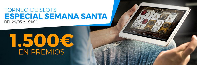 tragaperras online, Paston Torneo de Slots especial semana santa 1.500€ en premios