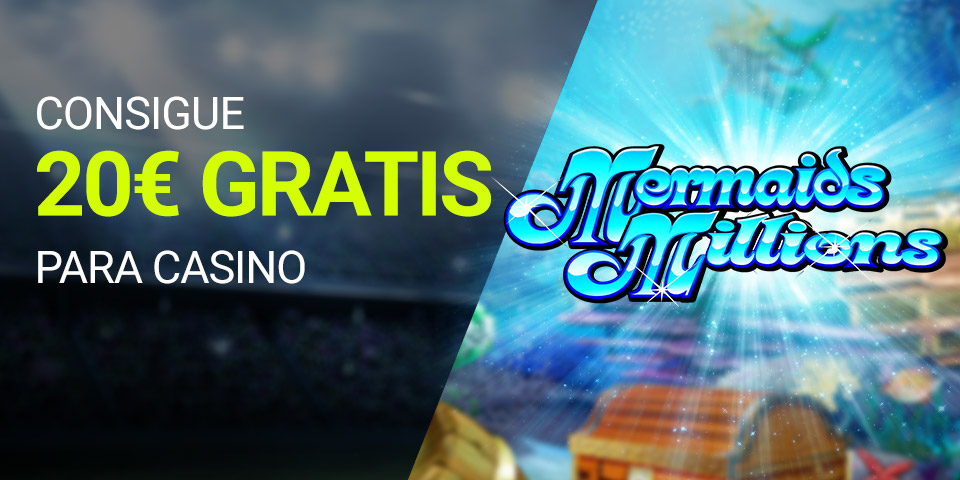 Tragaperras online Luckia casino Slots consigue 20€ gratis para casino ¡SOLO HOY JUEVES!