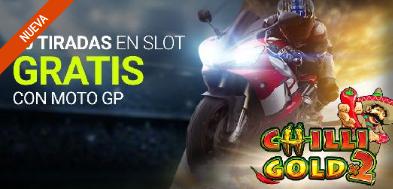 tragaperras online Luckia Casino 10 Tiradas gratis con Moto GP