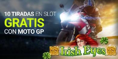 tragaperras online Luckia Slots 10 tiradas gratis con motogp