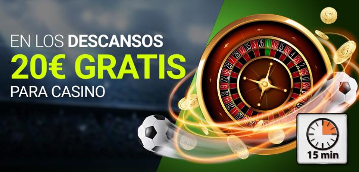 tragaperras online Luckia casino 20€ gratis jugando slots en descanso Final Champions