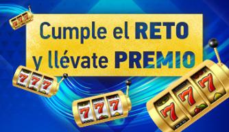 Sportium casino cumple el reto y llévate un premio diario