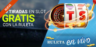 tragaperras online Luckia Casinos 5 Tiradas en Slot gratis con Ruleta