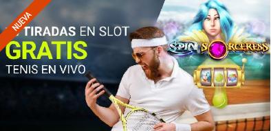 Luckia Casino 10 tiradas gratis con el Tenis en vivo