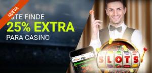 tragaperras online Luckia casino 25% extra para casino este finde